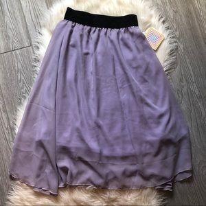LuLaRoe Lavender Skirt